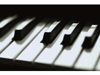 Private piano lessons for children and adults