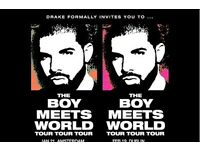 2 Drake tickets Sheffield 2017