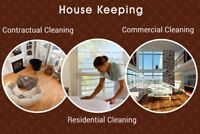 Commercial, residential and construction cleaning.