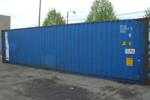 Sea containers for storage