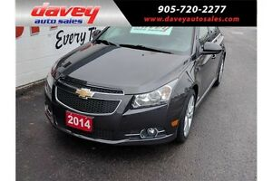 2014 Chevrolet Cruze 2LT NAVIGATION, SUNROOF, LEATHER SEATS