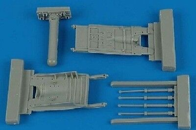 Aires 4365 1/48 MiG29 Fulcrum Air Brakes For Academy