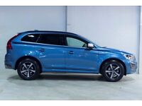 Volvo XC60 D4 R-DESIGN NAV (blue) 2017
