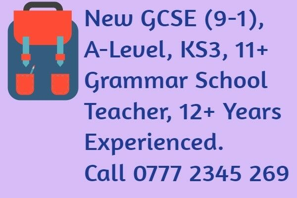 Grammar School Teacher, Examiner, Maths Tutor Chalfont