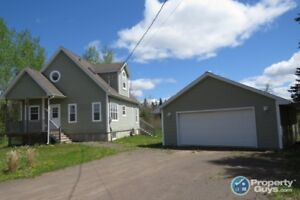 Lovely 5 yr old 1.5 storey home is located on 2.45 acres