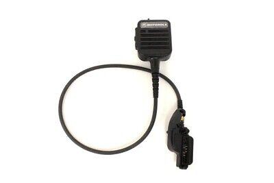 Motorola Public Safety Mic Nmn6250a Xts3000 Xts5000 24 Straight Cord W Adapter