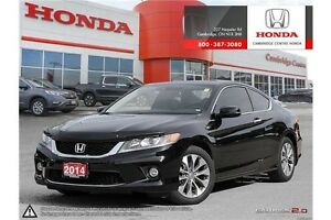 2014 Honda Accord EX-L-NAVI LEATHER INTERIOR | SUNROOF | LANE... Cambridge Kitchener Area image 1