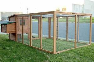 GIANT 2.8M Chicken Coop Rabbit Hutch Hen Chook House Osborne Port Adelaide Area Preview