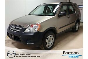 2005 Honda CR-V LX - Clean! Economical and Reliable!