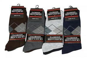 1-Dozen-12-Pack-Mens-Dress-Socks-Assorted-Colors-Brand-New