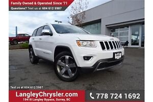 2015 Jeep Grand Cherokee Limited W/ NAVIGATION, PADDLE SHIFTE...