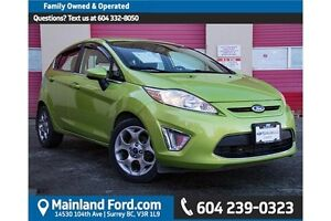 2012 Ford Fiesta SES 1 OWNER, LOCAL, NO ACCIDENTS