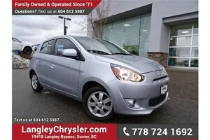 2014 Mitsubishi Mirage SE ACCIDENT FREE w/ 5-SPEED MANUAL