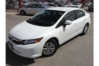 2012 HONDA CIVIC LX - CERTIFIED PREOWNED - CLEAN