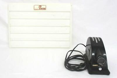 Vintage Argus Sve Special Series Slide Projector Wslide Sorter Tray Need Bulb