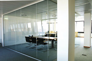 """75% OFF - 10 OVERSIZE TEMPERED GLASS SAFETY PANELS - 76""""H x 28""""W"""