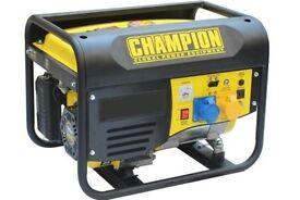 NEW - Champion CPG4000E1 Electric Start Generator, BALLYNAHINCH, DRUMANESS