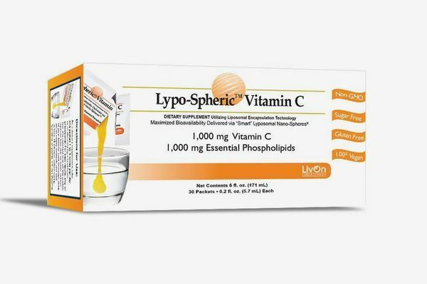LivOn Laboratories Lypo-Spheric™ Vitamin C 1000 mg 30 Packets New