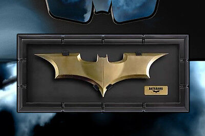 (DC The NOBLE Collection BATMAN DARK Knight BATARANG 1:1 PROP REPLICA Statue Bust)