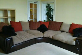 Giant and Extra Wide 6 to 8 Seater Corner Sofa