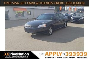 2012 Chevrolet Impala LS V6! Spacious! PST PAID!