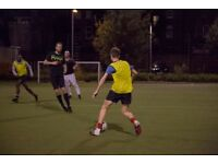 HACKNEY CENTRAL 5 A-SIDE TEAM SEEKS PLAYERS -
