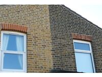 Brick cleaning,PEBBLE DASH REMOVAL,BRICK REPLACEMENT,FRONT WALL BUILT,POINTING,RENDER,PAINT REMOVAL