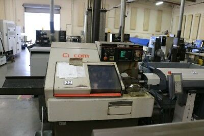 1986 Citizen Cincom G16 Swiss Lathe Cnc Machine Turning