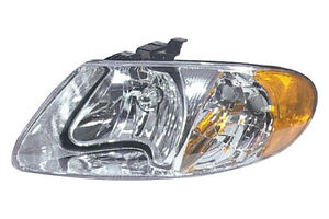 DODGE CARAVAN HEADLIGHT 2001 2002 2003 2004 2005 2006