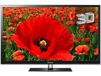 """Slim Samsung 43"""" inch 3D HD TV with Freeview & USB Media Player built in, 3 x HDMI not 37, 40, 42 50"""