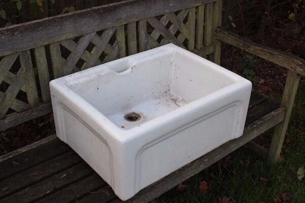 **BUTLER \ BELFAST SINKS** PERFECT FOR THE GARDEN**PRICES START AT £25**BARGAIN**