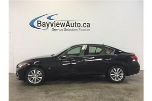 2014 Infiniti Q50 - AWD! 3.7L! SUNROOF! LEATHER! REVERSE CAM!