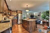 A stunning, quality built home w hard to find privacy