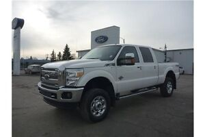 """2013 Ford F-350 Lariat PST PAID! 4"""" LIFT! LOCAL TRADE!!"""