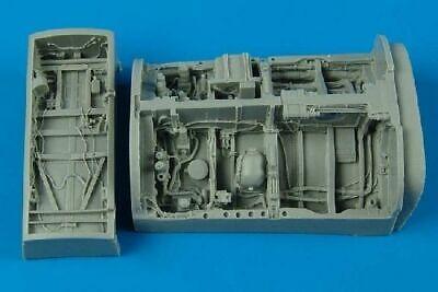 Aires 4384 1/48 Mitsubishi F2A/B Wheel Bays For Hasegawa