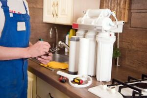 Installation, Service, Sales & Repairs of Water Filter Systems.