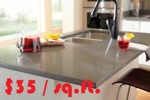 Granite Marble Quartz Kitchen Countertops - Best Price $29.99