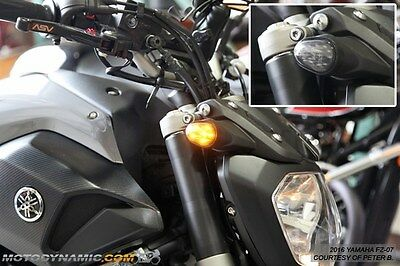 2014-2016 Yamaha FZ-07 FZ-09 Flush Mount LED Turn Signal Lights + Resistors