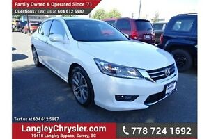 2014 Honda Accord Sport w/Safety Rear Camera & Heated Seats