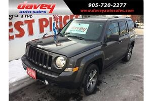 2016 Jeep Patriot Sport/North 4X4, LEATHER HEATED SEATS, SUNR...