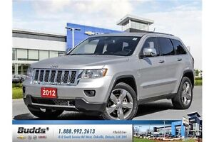 2012 Jeep Grand Cherokee Overland SAFETY AND E Tested