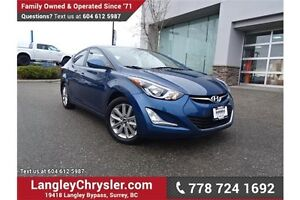 2016 Hyundai Elantra GL W/ BLUETOOTH, SUNROOF & HEATED SEATS