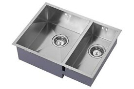 Beautiful Sink 1810 ZENDUO 340/180U Never used..still in the box. The price as new is 550 pounds