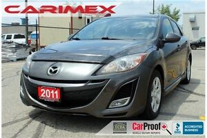 2011 Mazda 3 Sport GS | Bluetooth | Sunroof | CERTIFIED