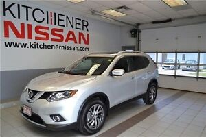 2015 Nissan Rogue SL SL/AWD/LEATHER/CAMERA/NAVI/PWR GROUP/LES...