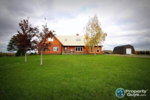 Log Home Set on 11+ acres, Just Outside St Andrews, Antigonish