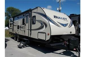 2017 KEYSTONE BULLET 287QBS TRAVEL TRAILER