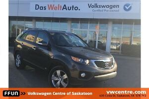 2013 Kia Sorento EX V6 FRESH LOCAL TRADE, PST PAID