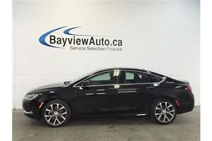 2016 Chrysler 200 C- 3.6L! PANOROOF! LEATHER! NAV! ALPINE SOUND!