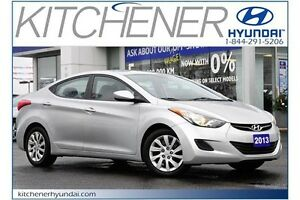 2013 Hyundai Elantra GL // MANUAL // AC // POWER GROUP // ONE... Kitchener / Waterloo Kitchener Area image 1